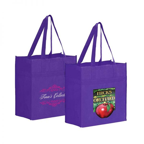 Reusable Eco Grocery Bag - Purple
