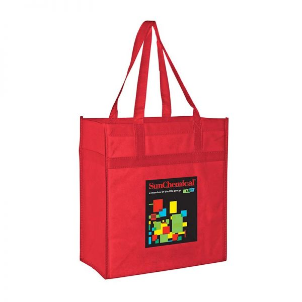 Reusable Eco Grocery Bag - Red