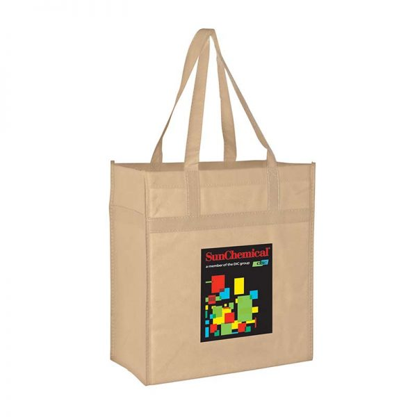Reusable Eco Grocery Bag - Tan