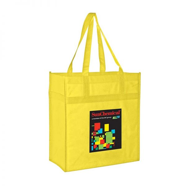 Reusable Eco Grocery Bag - Yellow