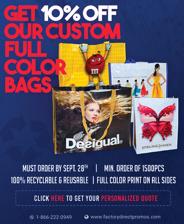 eco special on custom reusable bags