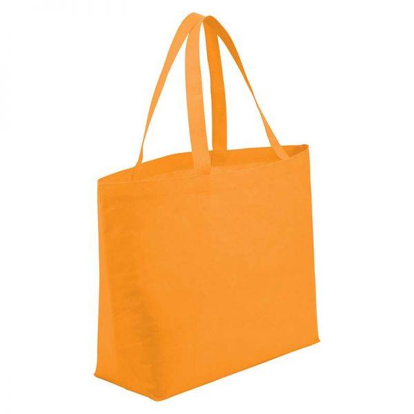 Orange Economy Shopper Bag
