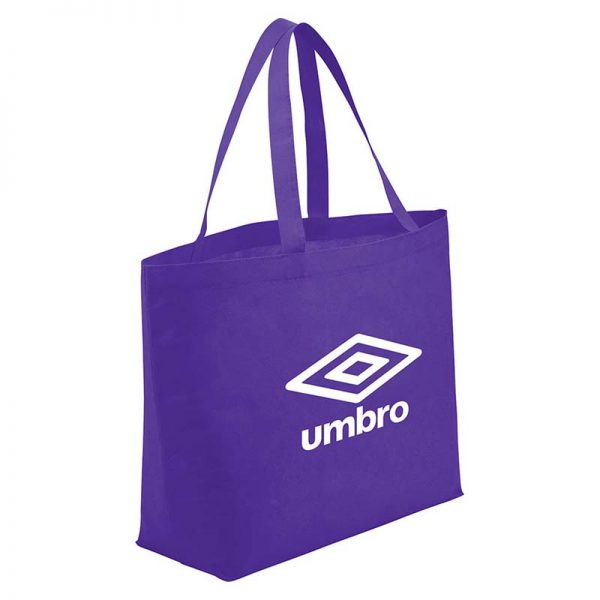 Purple Economy Shopper Bag