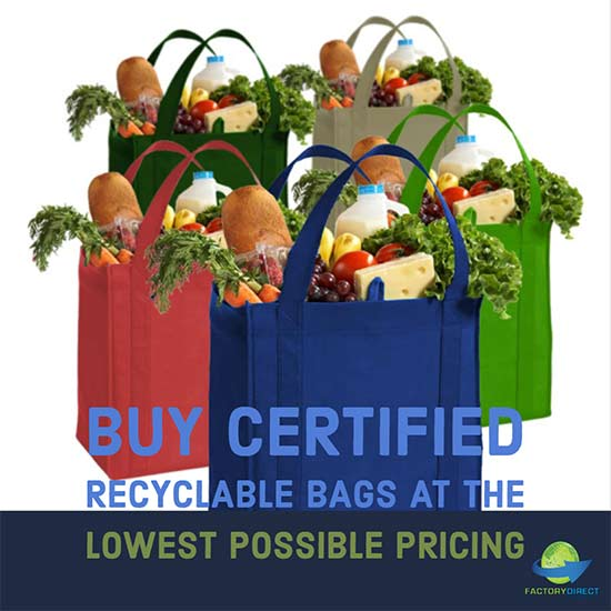 Buy Certified Recyclable Bags at the Lowest Possible Pricing