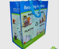Reusable Recycling Bags Work to Support Recycling Legislation