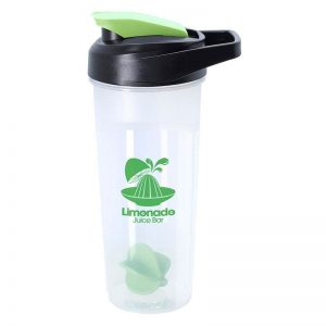 Lime Green 21oz Promotional Blender Bottle with Agitator Ball