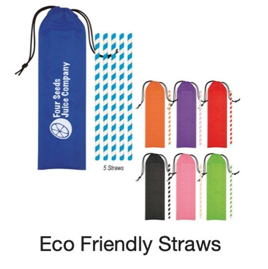 Eco Friendly Promotional Straws