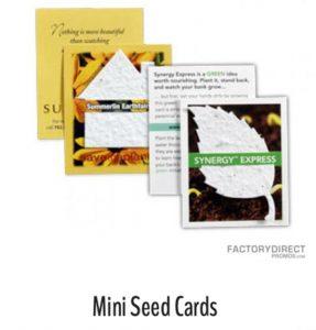 Mini Seed Cards
