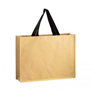 Large/Jumbo Natural Kraft Trade Show Bag