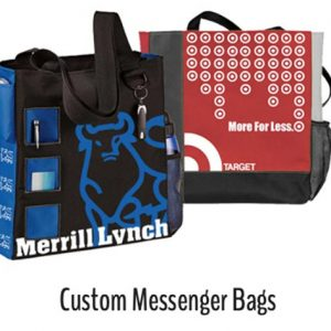 Custom Messenger Bags wholesale for trade shows