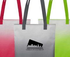 Ombre Trade Show Tote + Your Customization = A Winning Combination