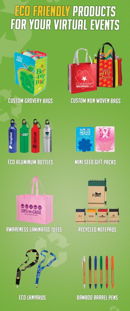 Smart Marketers Ship Eco-Friendly Promotional Items for Their Virtual Events