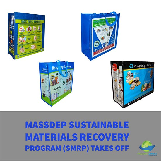 Massachusetts MassDEP Sustainable materials recycling program SMRP