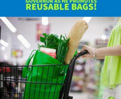 New Jersey Governor Promotes Reusable Bags and Businesses Benefit!