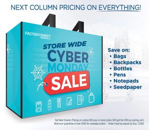 Eco-Friendly Promo SITEWIDE Next Column Pricing Cyber Monday Sale Extended!