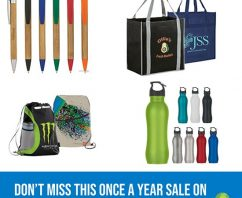 Don't Miss This Once a Year SALE on Eco-Friendly Promotional Items!