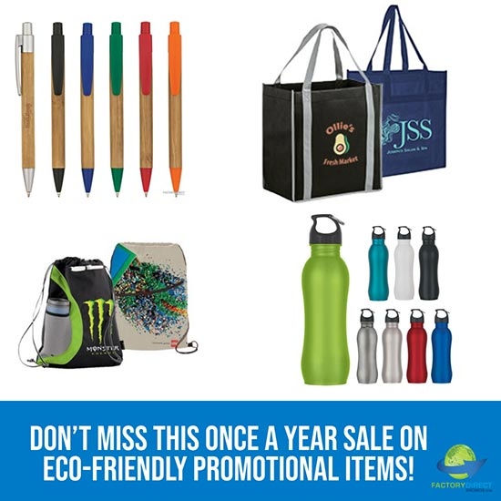 Cyber Monday Sale Extended on eco-friendly promotional items