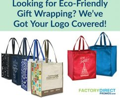 Looking for Eco-Friendly Gift Wrapping? We've Got Your Logo Covered!