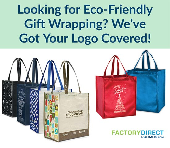 Looking for Eco-Friendly Gift Wrapping? We've Got Your Logo Covered