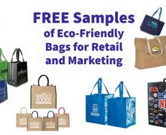 FREE Samples of Eco-Friendly Bags for Retail and Marketing