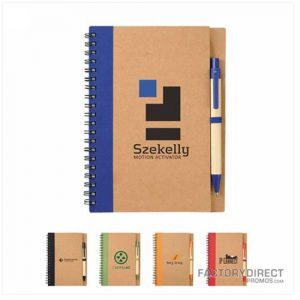 eco-friendly recycled notebook