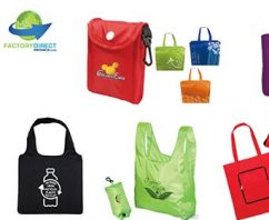 Shopping Bags That Fold Into a Pouch Make Easy Work of Going Green