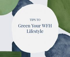 12 Ways to Green Your Work From Home (WFH) Lifestyle