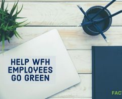 Help Work From Home (WFH) Employees Go Green with Branded Reusable Recycling Bags