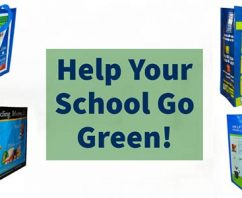 Here's a Great GO GREEN Idea for Your School…At A DEEP Discount!
