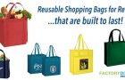 Reusable Shopping Bags for Retail Built to Last…Create YOUR Best Bag!