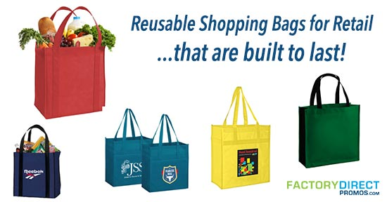 best reusable shopping bags for retail