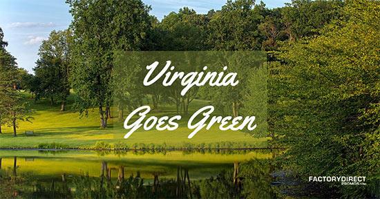 Virginia Goes Green executive order 77