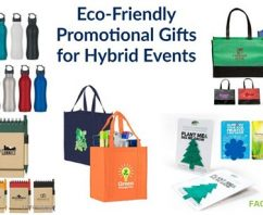 5 Eco-Friendly Promotional Gifts for Hybrid Events