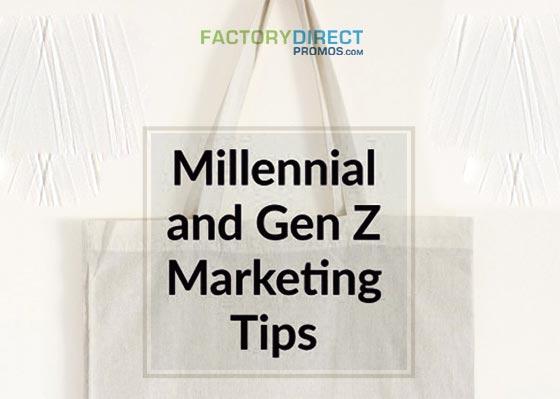 Reusable bags - Millennial Gen Z Marketing Tips